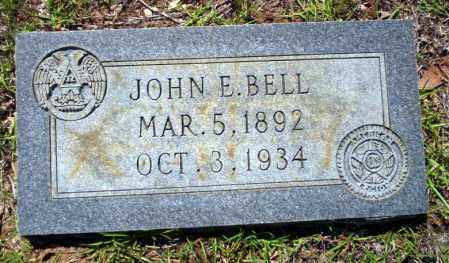 BELL (VETERAN), JOHN E. - Ouachita County, Arkansas | JOHN E. BELL (VETERAN) - Arkansas Gravestone Photos