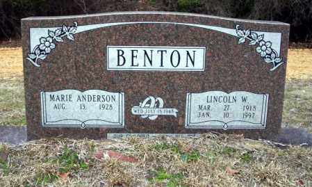 BENTON, LINCOLN W - Ouachita County, Arkansas | LINCOLN W BENTON - Arkansas Gravestone Photos