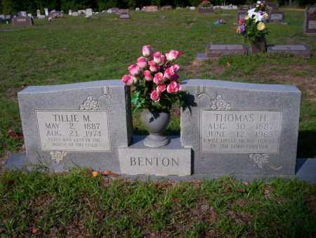 BENTON, THOMAS H - Ouachita County, Arkansas | THOMAS H BENTON - Arkansas Gravestone Photos