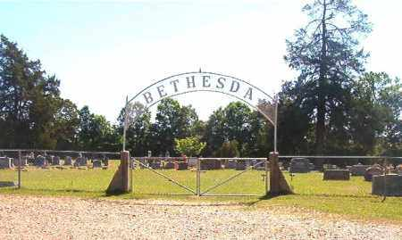 *BETHESDA, CEMETERY ENTRANCE - Ouachita County, Arkansas | CEMETERY ENTRANCE *BETHESDA - Arkansas Gravestone Photos