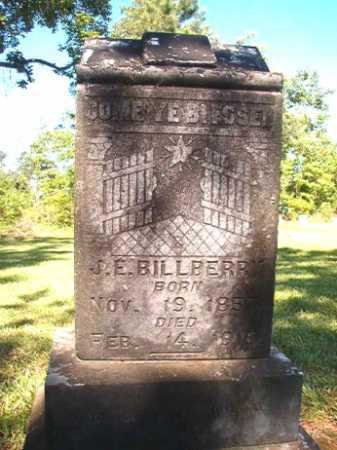 BILLBERRY, J E - Ouachita County, Arkansas | J E BILLBERRY - Arkansas Gravestone Photos