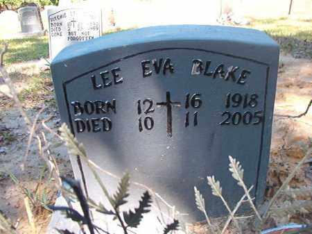 BLAKE, LEE EVA - Ouachita County, Arkansas   LEE EVA BLAKE - Arkansas Gravestone Photos