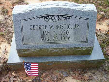 BOSTIC JR, GEORGE WILLIAM - Ouachita County, Arkansas | GEORGE WILLIAM BOSTIC JR - Arkansas Gravestone Photos