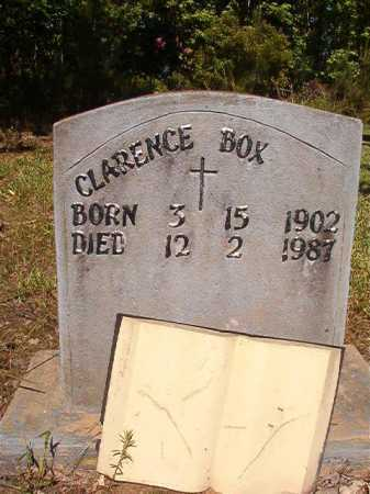 BOX, CLARENCE - Ouachita County, Arkansas | CLARENCE BOX - Arkansas Gravestone Photos