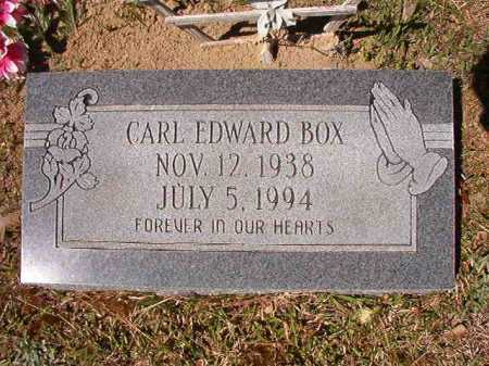 BOX, CARL EDWARD - Ouachita County, Arkansas | CARL EDWARD BOX - Arkansas Gravestone Photos