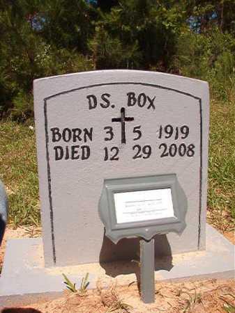 BOX, D S - Ouachita County, Arkansas | D S BOX - Arkansas Gravestone Photos