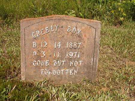 BOX, GREELY - Ouachita County, Arkansas | GREELY BOX - Arkansas Gravestone Photos