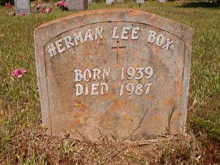 BOX, HERMAN LEE - Ouachita County, Arkansas | HERMAN LEE BOX - Arkansas Gravestone Photos