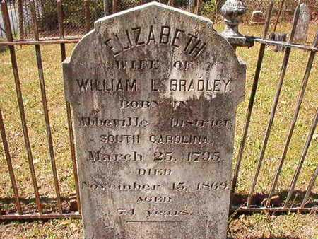 BRADLEY, ELIZABETH - Ouachita County, Arkansas | ELIZABETH BRADLEY - Arkansas Gravestone Photos