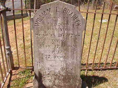 BRADLEY, WILLIAM L - Ouachita County, Arkansas | WILLIAM L BRADLEY - Arkansas Gravestone Photos