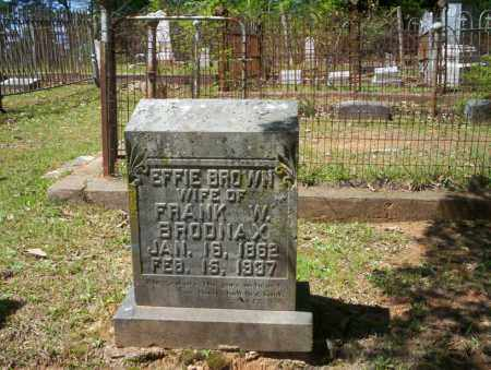 BRODNAX, EFFIE - Ouachita County, Arkansas | EFFIE BRODNAX - Arkansas Gravestone Photos