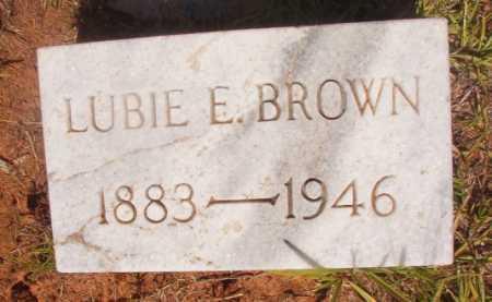 BROWN, LUBIE E - Ouachita County, Arkansas | LUBIE E BROWN - Arkansas Gravestone Photos