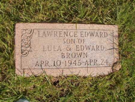 BROWN, LAWRENCE EDWARD - Ouachita County, Arkansas | LAWRENCE EDWARD BROWN - Arkansas Gravestone Photos