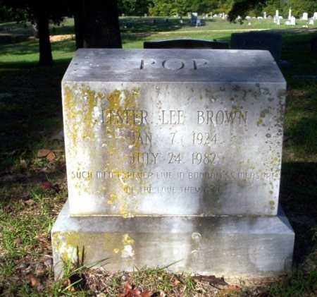 BROWN, LESTER LEE - Ouachita County, Arkansas | LESTER LEE BROWN - Arkansas Gravestone Photos