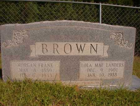 LANDERS BROWN, LOLA MAE - Ouachita County, Arkansas | LOLA MAE LANDERS BROWN - Arkansas Gravestone Photos
