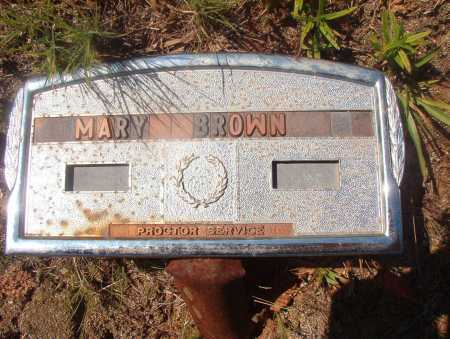 BROWN, MARY - Ouachita County, Arkansas | MARY BROWN - Arkansas Gravestone Photos