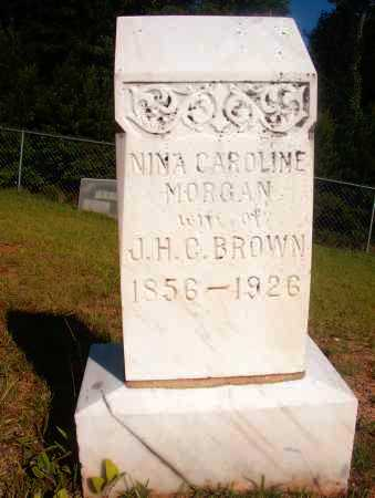 BROWN, NINA CAROLINE - Ouachita County, Arkansas | NINA CAROLINE BROWN - Arkansas Gravestone Photos