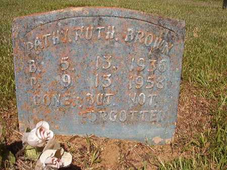 BROWN, PATHY RUTH - Ouachita County, Arkansas | PATHY RUTH BROWN - Arkansas Gravestone Photos
