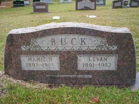 BUCK, J. EVAN - Ouachita County, Arkansas | J. EVAN BUCK - Arkansas Gravestone Photos