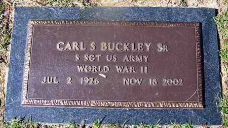 BUCKLEY (VETERAN WWII), CARL S - Ouachita County, Arkansas | CARL S BUCKLEY (VETERAN WWII) - Arkansas Gravestone Photos