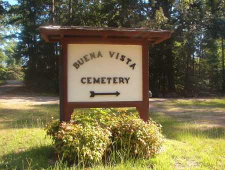 *BUENA VISTA, CEMETERY - Ouachita County, Arkansas | CEMETERY *BUENA VISTA - Arkansas Gravestone Photos