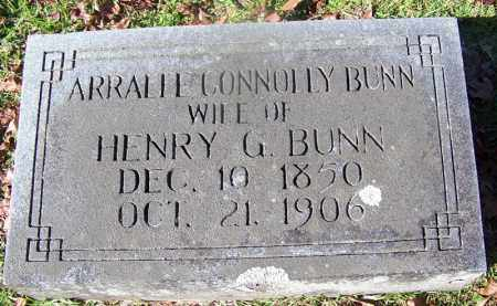 BUNN, ARRALEE - Ouachita County, Arkansas | ARRALEE BUNN - Arkansas Gravestone Photos