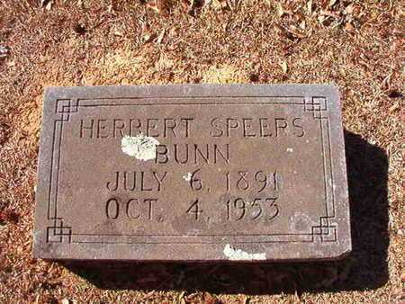 BUNN, HERBERT SPEERS - Ouachita County, Arkansas | HERBERT SPEERS BUNN - Arkansas Gravestone Photos
