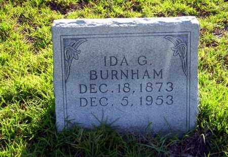 BURNHAM, IDA G - Ouachita County, Arkansas | IDA G BURNHAM - Arkansas Gravestone Photos