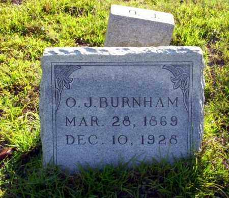 BURNHAM, O.J. - Ouachita County, Arkansas | O.J. BURNHAM - Arkansas Gravestone Photos