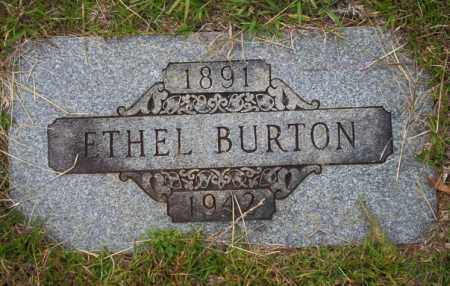 BURTON, ETHEL - Ouachita County, Arkansas | ETHEL BURTON - Arkansas Gravestone Photos