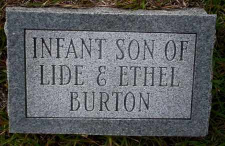 BURTON, INFANT SON - Ouachita County, Arkansas | INFANT SON BURTON - Arkansas Gravestone Photos