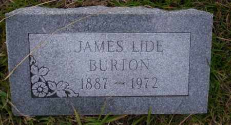 BURTON, JAMES LIDE - Ouachita County, Arkansas | JAMES LIDE BURTON - Arkansas Gravestone Photos