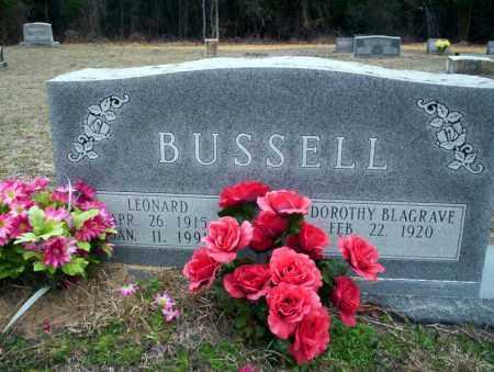 BUSSELL, LEONARD - Ouachita County, Arkansas | LEONARD BUSSELL - Arkansas Gravestone Photos