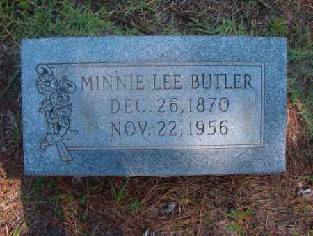 BUTLER, MINNIE LEE - Ouachita County, Arkansas | MINNIE LEE BUTLER - Arkansas Gravestone Photos