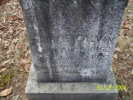 CALVIN, PRINCE - Ouachita County, Arkansas | PRINCE CALVIN - Arkansas Gravestone Photos