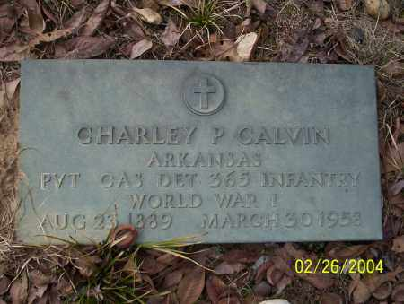 CALVIN (VETERAN WWI), CHARLEY P - Ouachita County, Arkansas   CHARLEY P CALVIN (VETERAN WWI) - Arkansas Gravestone Photos
