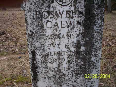 CALVIN (VETERAN WWI), BOSWELL - Ouachita County, Arkansas | BOSWELL CALVIN (VETERAN WWI) - Arkansas Gravestone Photos
