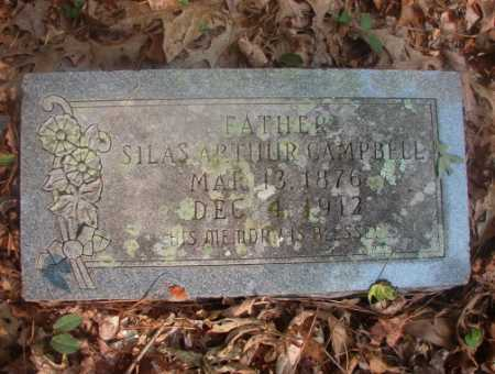 CAMPBELL, SILAS ARTHUR - Ouachita County, Arkansas | SILAS ARTHUR CAMPBELL - Arkansas Gravestone Photos