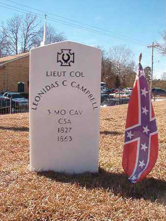CAMPBELL (VETERAN CSA), LEONIDAS C - Ouachita County, Arkansas | LEONIDAS C CAMPBELL (VETERAN CSA) - Arkansas Gravestone Photos