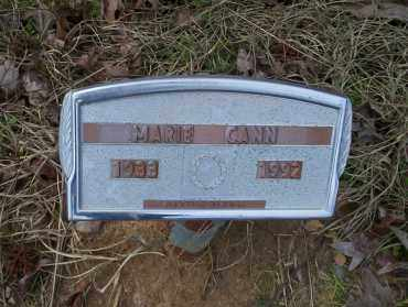 CANN, MARIE - Ouachita County, Arkansas | MARIE CANN - Arkansas Gravestone Photos