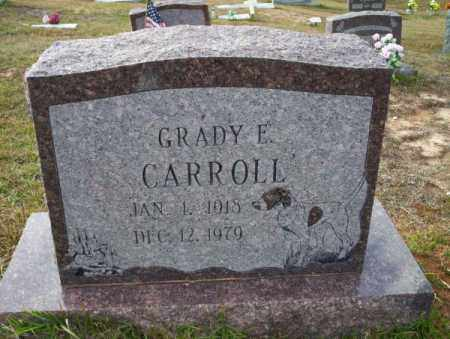 CARROLL, GRADY E - Ouachita County, Arkansas | GRADY E CARROLL - Arkansas Gravestone Photos