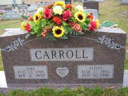 CARROLL, JAKE - Ouachita County, Arkansas | JAKE CARROLL - Arkansas Gravestone Photos
