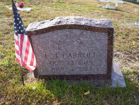 CARROLL, L.J. - Ouachita County, Arkansas | L.J. CARROLL - Arkansas Gravestone Photos