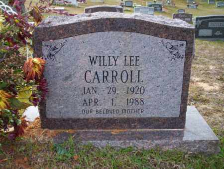CARROLL, WILLY LEE - Ouachita County, Arkansas | WILLY LEE CARROLL - Arkansas Gravestone Photos