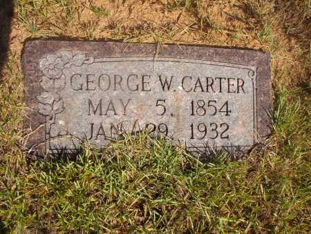 CARTER, GEORGE W - Ouachita County, Arkansas | GEORGE W CARTER - Arkansas Gravestone Photos
