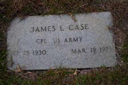 CASE  (VETERAN), JAMES L - Ouachita County, Arkansas | JAMES L CASE  (VETERAN) - Arkansas Gravestone Photos