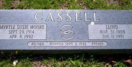 CASSELL, MYRTLE SUSIE - Ouachita County, Arkansas | MYRTLE SUSIE CASSELL - Arkansas Gravestone Photos
