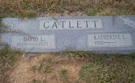 CATLETT, DAVID L - Ouachita County, Arkansas | DAVID L CATLETT - Arkansas Gravestone Photos