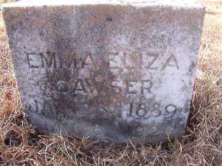 CAWSER, EMMA ELIZA - Ouachita County, Arkansas | EMMA ELIZA CAWSER - Arkansas Gravestone Photos