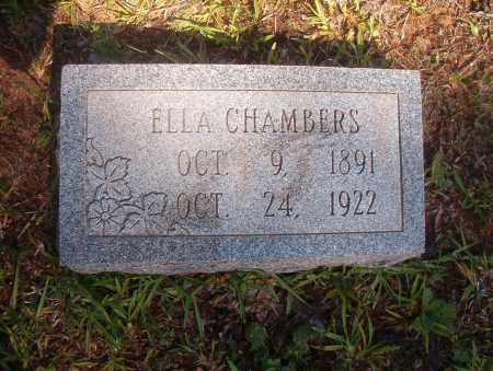 CHAMBERS, ELLA - Ouachita County, Arkansas | ELLA CHAMBERS - Arkansas Gravestone Photos